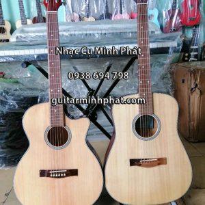 Đàn guitar cho người mới học có 2 dáng eo và dáng D - Nhạc Cụ Minh Phát