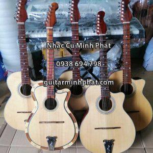 Mua đàn guitar thùng vọng cổ cao cấp gỗ điệp đúc kết giá rẻ tại quận bình tân - Nhạc Cụ Minh Phát