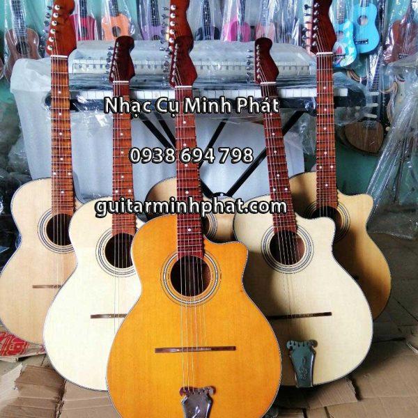 Bán đàn guitar phím lõm giá rẻ gỗ hồng đào - Nhạc Cụ Minh Phát