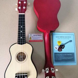 Đàn ukulele soprano màu gỗ giá rẻ tại Nhạc Cụ Minh Phát quận Bình Tân TP.HCM