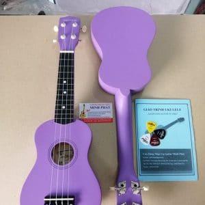 Đàn ukulele soprano màu tím trơn giá rẻ tại Nhạc Cụ Minh Phát quận Bình Tân TP.HCM