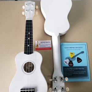 Đàn ukulele soprano màu trắng giá rẻ tại Nhạc Cụ Minh Phát quận Bình Tân TP.HCM