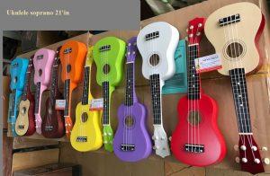 Ukulele soprano size 21'in - đủ màu phục vụ mùa lễ tết 2020 - Nhạc Cụ Minh Phát
