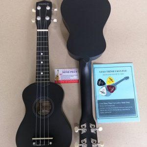 Đàn ukulele soprano màu đen trơn giá rẻ tại Nhạc cụ minh phát quận bình tân tphcm