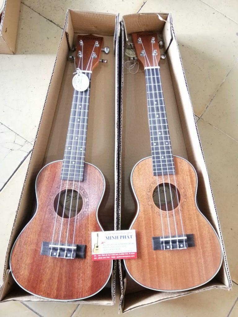 Mua đàn ukulele concert full gỗ mahogany deviser tại Nhạc Cụ Minh Phát quận Bình Tân Tphcm