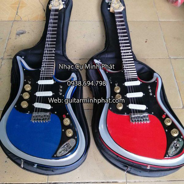 Bán đàn guitar điện phím lõm octau tiếng đôi - nhạc cụ Minh Phát