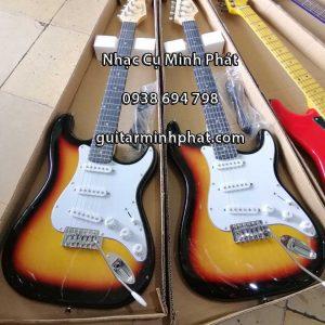 Cửa hàng chuyên bán đàn guitar điện giá rẻ cho người mới học - guitar điện fender có cần nhúng cao cấp tại quận bình tân tphcm - nhạc cụ minh phát