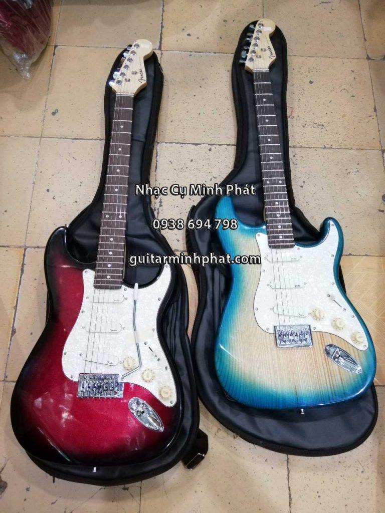 guitar điện fender giá rẻ tại tphcm - nhạc cụ minh phát