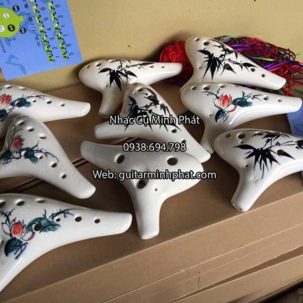 Cửa hàng bán kèn ocarina 12 lỗ giá rẻ tại tphcm - ship toàn quốc