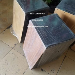 Trống cajon mặt xéo ( mặt nghiêng ) - Nhạc Cụ Minh Phát