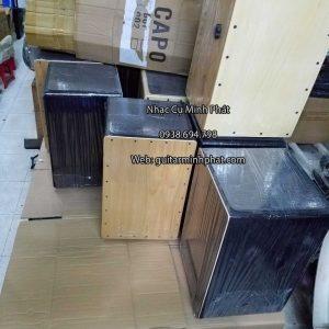 Trống cajon giá rẻ nhất - cajon sinh viên tại cửa hàng nhạc cụ Minh Phát