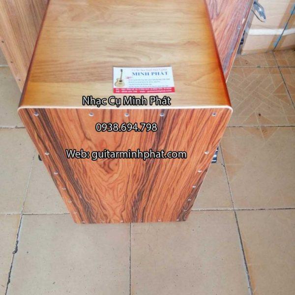 Trống cajon gỗ thông giá rẻ - Nhạc Cụ Minh Phát