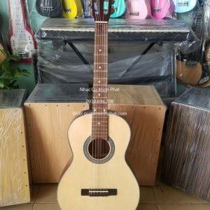 đàn guitar mini, guitar dam size 3/4 gỗ hồng đào giá rẻ. Nhạc cụ Minh Phát