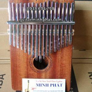 Dan Kalimba Clifton cao cap 17 phim, Thumb Piano 17 keys - Go Mahogany - Nhac Cu Minh Phat