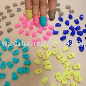 Bộ móng cao su bọc ngón chơi guitar