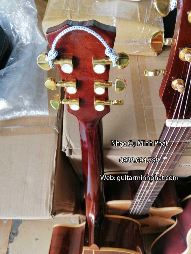 Guitar Acoustic Gỗ Hồng Đào - Có ty chỉnh cần 5