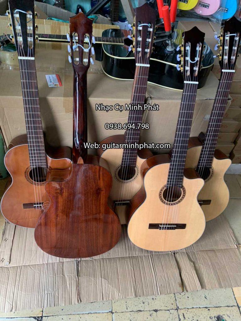 Đàn guitar classic gỗ hồng đào dáng khuyết 3