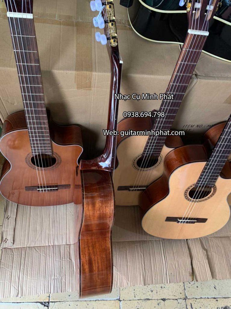 Đàn guitar classic gỗ hồng đào dáng khuyết 5