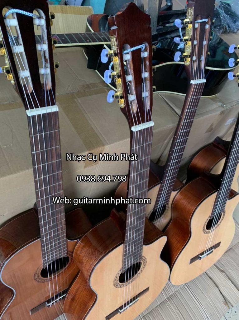Đàn guitar classic gỗ hồng đào dáng khuyết 6