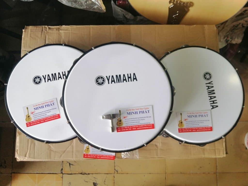 Mua trống lục lạc - trống lắc tay - trống tambourine ở quận Bình Tân 1