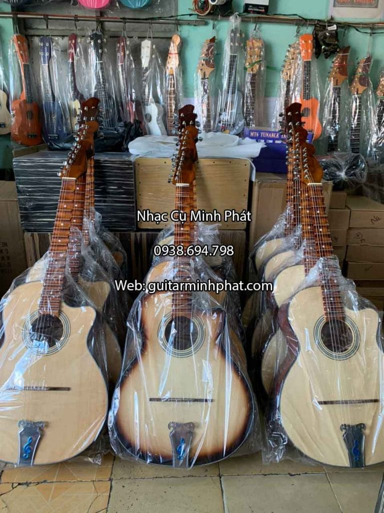 Guitar tân cổ phím lõm C01 6